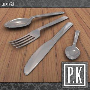 maya cutlery set