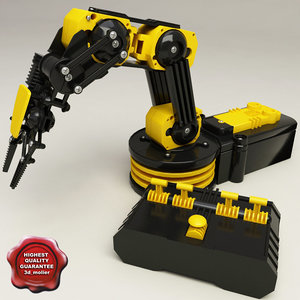 3ds max edge robotic arm kit