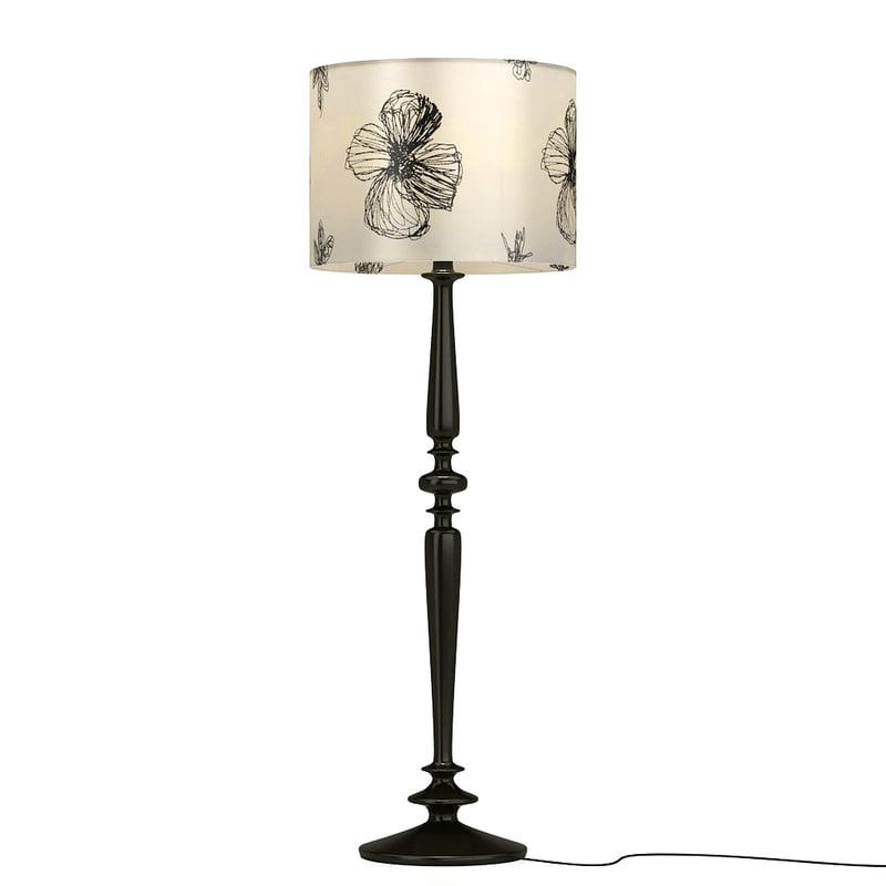 3d floor lamp albert shtein