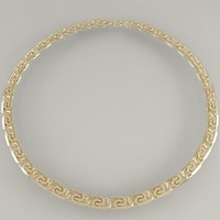 Gold Snail Link Chain
