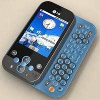 lg ks360 phone 3d max