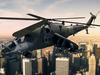 maya mi-24 helicopter hind