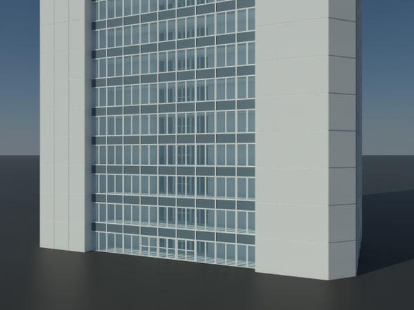 skyscraper office building version 3d 3ds