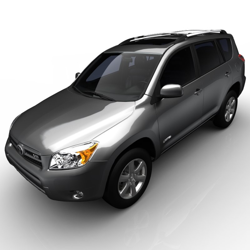 3d model toyota rav4 limited