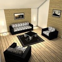 dxf living room interior design