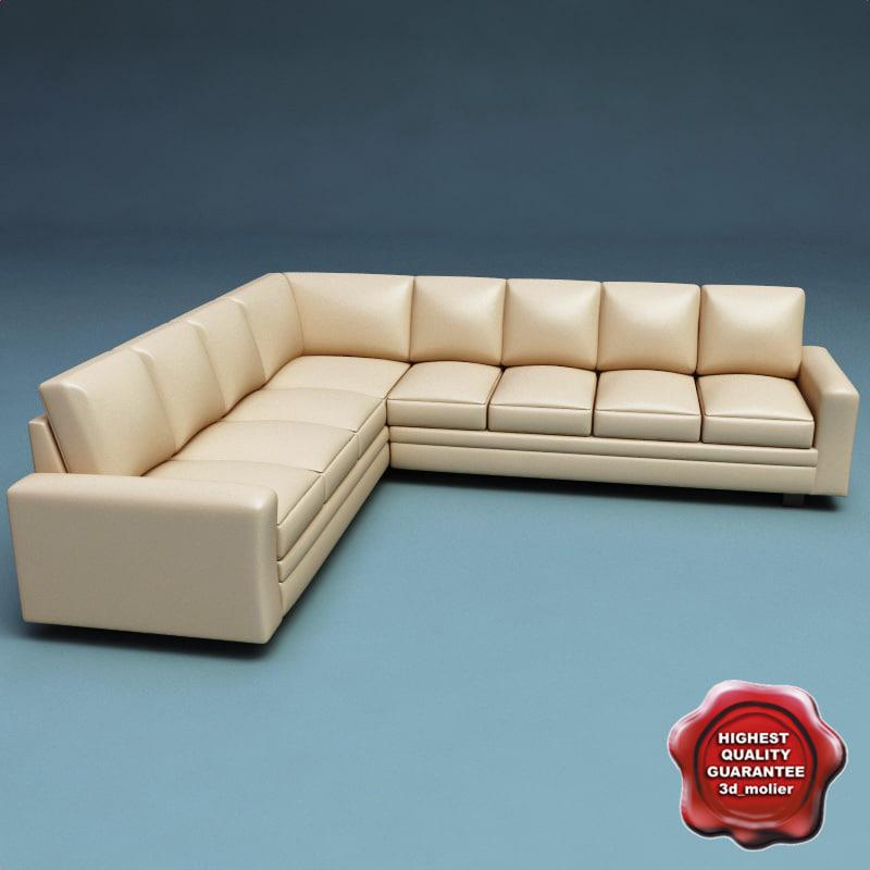3d model sofa v26