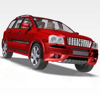 Volvo XC90 3D Car