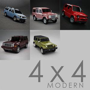jimny 4x4 3d model