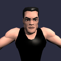 3ds max male man