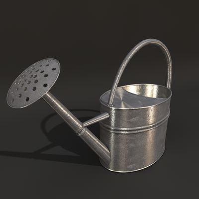 watering 3d model