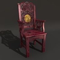 3d chinese chair model