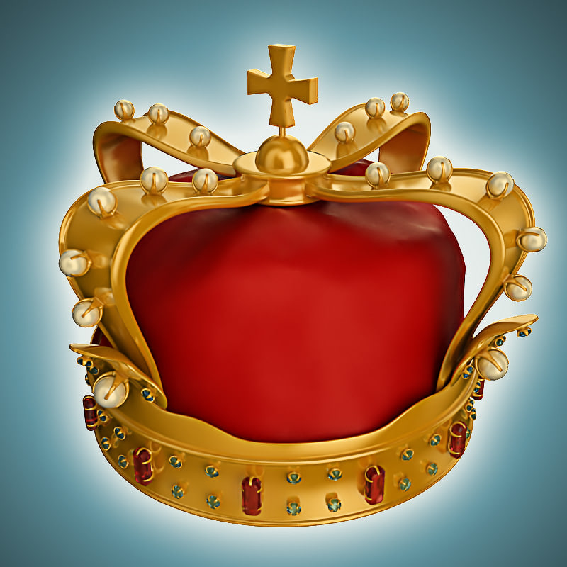 3d model crown royal