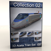 Amtrak Acela Collection Set