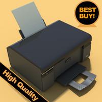 3d epson printer model