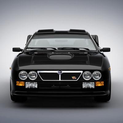 3d lancia 037 model