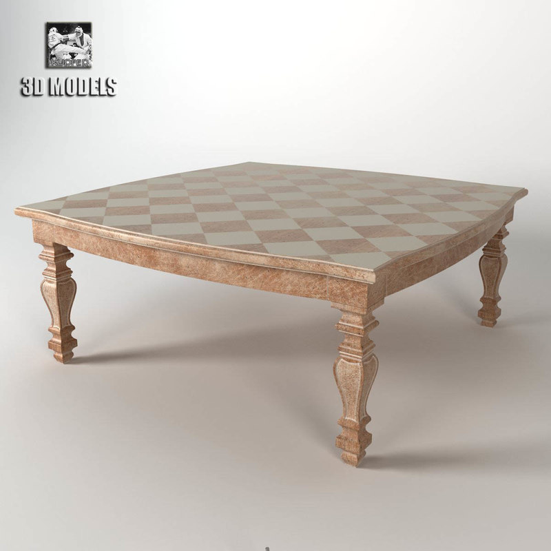 3d model grifoni vitorio table