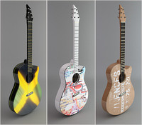 3d acoustic custom guitars