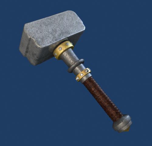 3d max hammer games