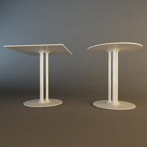 3d pip-e table design