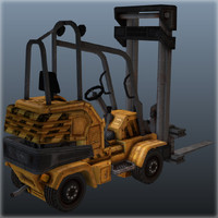 fork loader ts 2008 3d model