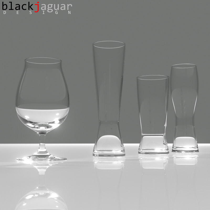 3d model spiegelau beer classics glass