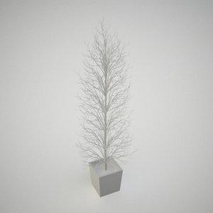 3d model decorative tree