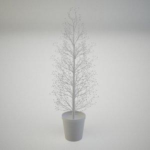 3d decorative tree