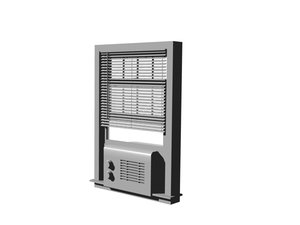 window air conditioner 3d dxf