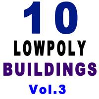10 buildings 3d 3ds