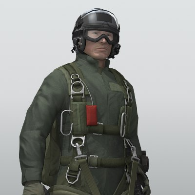 3ds max 82nd airborne jumpmaster army