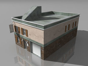 security building 3d model