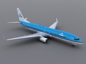 3ds max aircraft klm