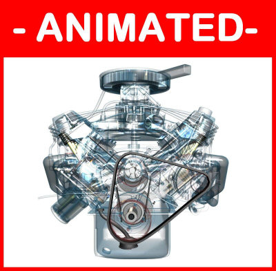 3d v8 engine fully fx