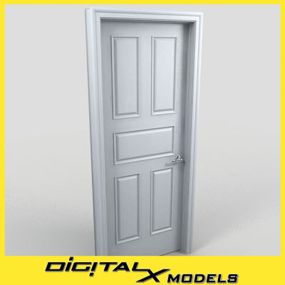 3d residential interior door 09
