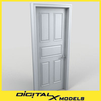 3d residential interior door 09