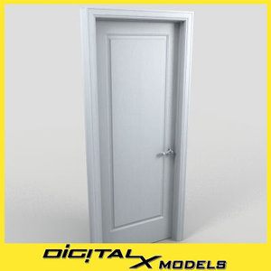 3d residential interior door 13 model