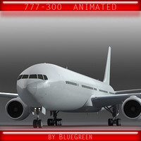 Boeing777-300 Animated