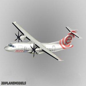 atr 42-500 eurolot 500 3d max
