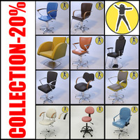 3ds max office chair pack 1