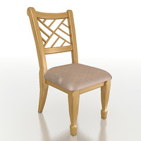 chair house 3d 3ds