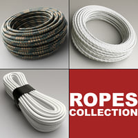 ropes set modelled 3d model