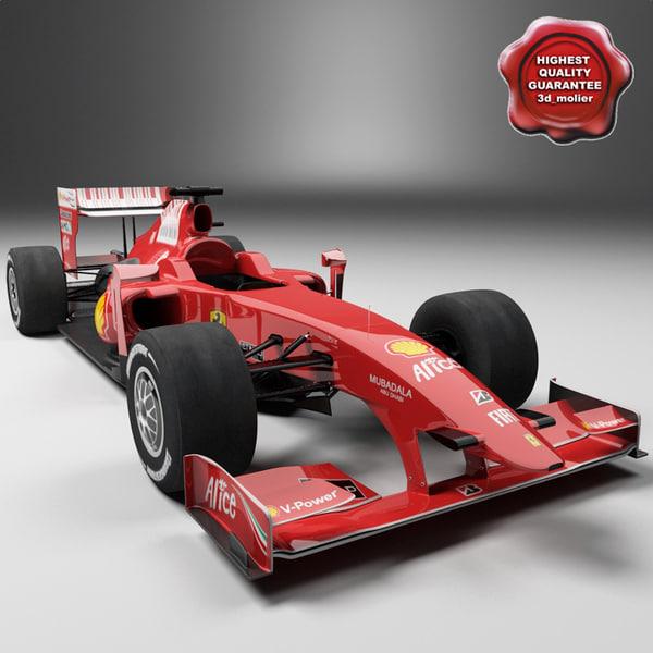 realistic formula 1 f2009 3d max