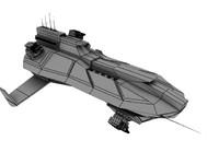space frigate 3d max