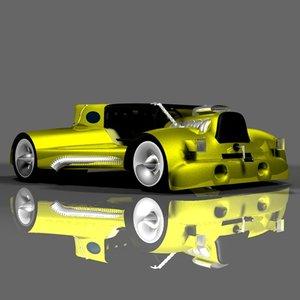 cinema4d fun car