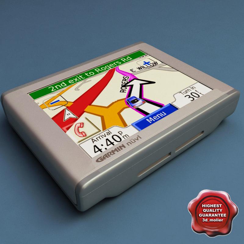 3d model garmin nuvi 360