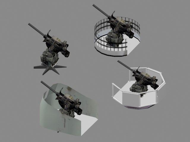 weapon wwii 3d model