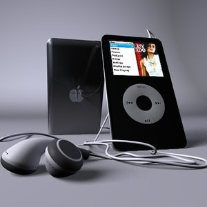 apple ipod c4d