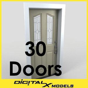 3d entry doors