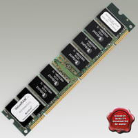 realistic computer ram memory 3ds
