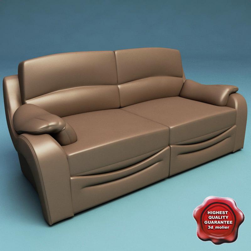 3d sofa v37 model
